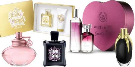 Holiday Gift Ideas - perfumes